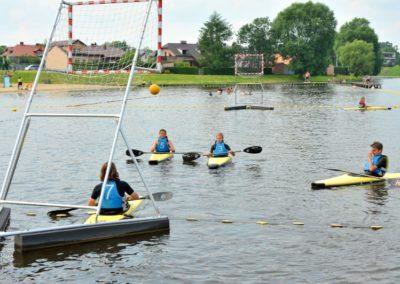 Zalew Zadębie Zawody sportowe w wodzie
